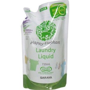 ハッピーエレファント 液体洗たく用洗剤 つめかえ...の商品画像