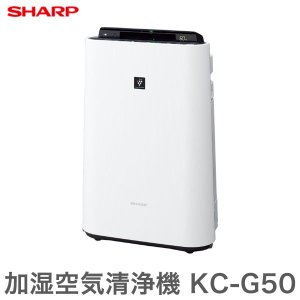 シャープ 加湿空気清浄機 KC-G50-W ...の関連商品10