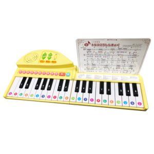 りょうてでひけるよ グランドピアノ ピアノ 音楽 演奏 けん盤 練習 オルガン オルゴール 両手 折りたたみ コンパクト 50曲 代引不可|rcmdhl