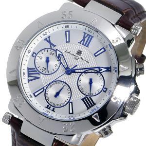 サルバトーレ マーラ クオーツ メンズ 腕時計 SM14118S-SSWH ホワイト rcmdhl