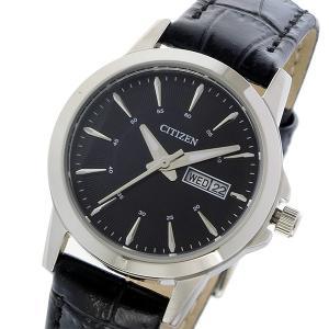 シチズン CITIZEN クオーツ レディース 腕時計 EQ0601-03E ブラック|rcmdhl