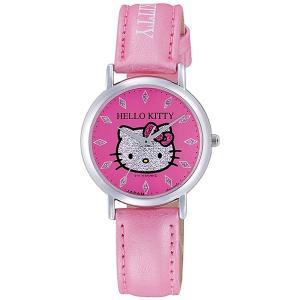 シチズン CITIZEN ハローキティ 日本製 レディース 腕時計 0009N002 ピンク|rcmdhl