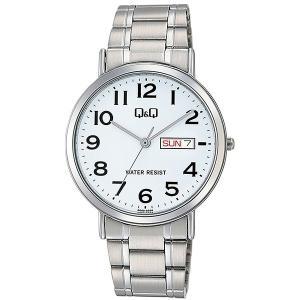 シチズン CITIZEN キューアンドキュー Q&Q メンズ 腕時計 A202-204 シルバー|rcmdhl