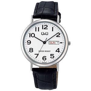 シチズン CITIZEN キューアンドキュー Q&Q メンズ 腕時計 A202-304 ブラック|rcmdhl