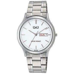 シチズン CITIZEN キューアンドキュー Q&Q メンズ 腕時計 A204-201 シルバー|rcmdhl