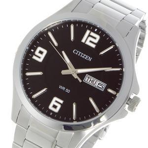 シチズン CITIZEN クオーツ メンズ 腕時計 BF2001-55E ブラック|rcmdhl
