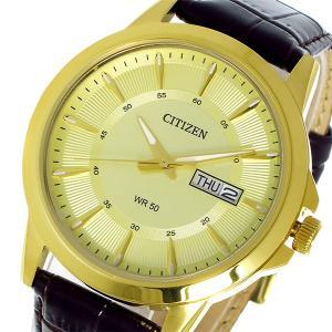 シチズン CITIZEN クオーツ メンズ 腕時計 BF2013-05P ゴールド|rcmdhl