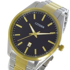 シチズン CITIZEN クオーツ メンズ 腕時計 BI1034-52E ブラック|rcmdhl