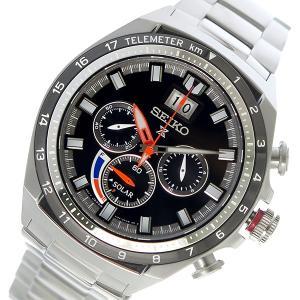 セイコー SEIKO プロスペックス PROSPEX ソーラー メンズ 腕時計 SSC603P1 ブラック rcmdhl