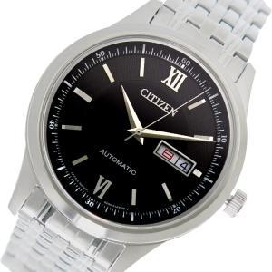 シチズン CITIZEN 自動巻き メンズ 腕時計 NY4051-51E ブラック|rcmdhl