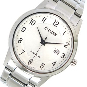 シチズン CITIZEN エコ・ドライブ クオーツ メンズ 腕時計 AW1231-58B シルバー|rcmdhl