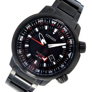 シチズン CITIZEN エコ・ドライブ クオーツ メンズ 腕時計 BJ7086-57E ブラック|rcmdhl