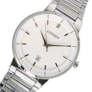 シチズン CITIZEN クオーツ メンズ 腕時計 BI5010-59A ホワイト|rcmdhl