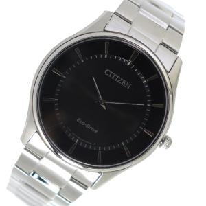 シチズン CITIZEN クオーツ メンズ 腕時計 BJ6481-58E ブラック|rcmdhl