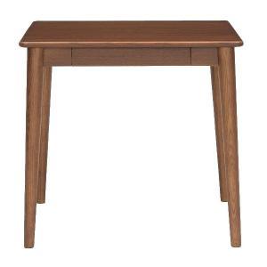 ミキモク ダイニングテーブル サライ ブラウン 75x70cm DT-70398 TBR 代引不可|rcmdhl