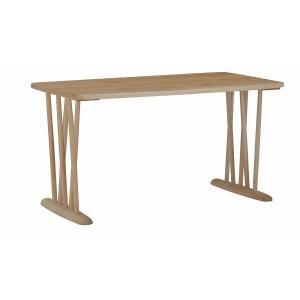 ミキモク ダイニングテーブル 楓の森 ナチュラル 角丸タイプ 90×180cm KMT-1810 KML-752 KNA 代引不可 rcmdhl