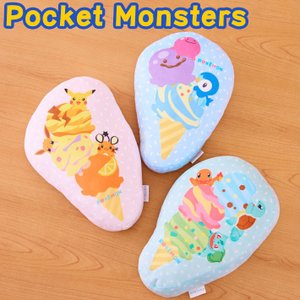 Pocket Monsters ポケットモンスター アイス ダイカットクッション ポケモン 代引不可|rcmdhl