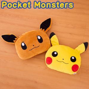 Pocket Monsters ポケットモンスター もちもち フェイスダイカット 枕 ポケモン 代引不可|rcmdhl