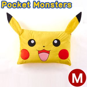 Pocket Monsters ポケットモンスター ピカチュウ フェイス ダイカット枕 M ポケモン 代引不可|rcmdhl