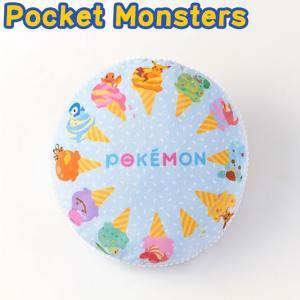 Pocket Monsters ポケットモンスター アイス ラウンド パフ クッション ポケモン 代引不可|rcmdhl