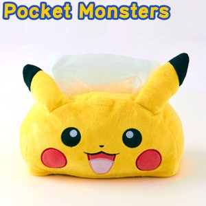 Pocket Monsters ポケットモンスター ピカチュウ ティッシュBOXカバー ポケモン 代引不可|rcmdhl