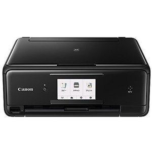 CANON インクジェット複合機 PIXUS TS8030 BLACK 1369C001 プリンタ複合機