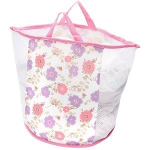 「ランドリーバッグ・洗濯ネット・洗濯かご」の3役兼ねる便利なバッグ!  脱いだ衣類を入れてそのまま洗...