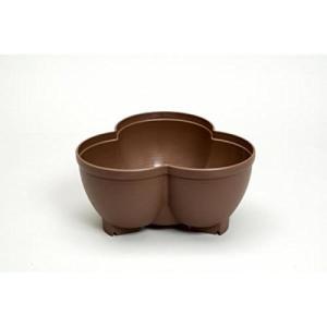 連結鉢 タワーポット チョコブラウン プラスチック製 植木鉢 代引不可|rcmdhl