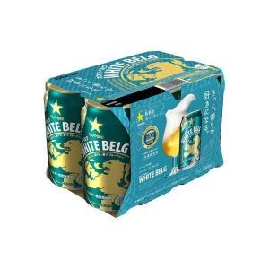まとめ買い サッポロビール 株 サッポロ ホワイトベルグ 6缶パック 350X6 ×4個セット まとめ お酒 アルコール 代引不可|rcmdhl