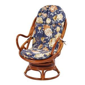 回転チェア 家具 トロピカル柄回転チェア 花柄チェア スツール 椅子 座椅子 アジアン エスニック 持ち運び簡単 代引不可|rcmdhl