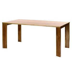 100周年記念モデル IDENTITY チーク製 ダイニングテーブル インテリア テーブル 食卓 ダイニング チーク 木製 代引不可 rcmdhl