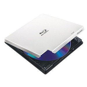 パイオニア BDXL対応RoHS準拠 USB3.0外付ポータブルBD/DVDライター ホワイト BDR-XD05W2 代引不可