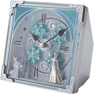 ディズニー アナと雪の女王 からくり置時計 27曲入 室内装飾品 掛け時計 からくり時計 4RH784MA03 代引不可|rcmdhl