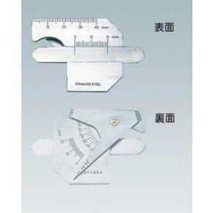 TRUSCO 溶接ゲージ 寸法測定精度±0.4 TWG-1 測定工具・ゲージ