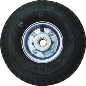 【商品詳細】  ●タイヤ内の空気圧を利用して路面よりの衝撃をやわらげます。●許容荷重(kgf):85...