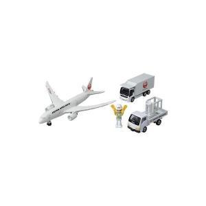 〔トミカ〕 タカラトミー 787エアポートセット(JAL)