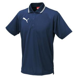 puma(プーマ) 半袖 ポロシャツ 864221 ネイビー/ホワイト 01|rcmdhl