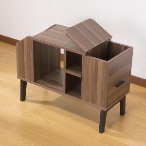 サイドテーブルチェスト サイドテーブル チェスト 木製 収納 棚 サイドテーブルチェスト 代引不可|rcmdin