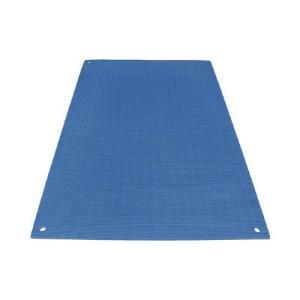 ワニ印 養生敷板 ワニ板 WANIBAN ブルー 16MM厚1.1M×1.8M 4945 代引き不可|rcmdin