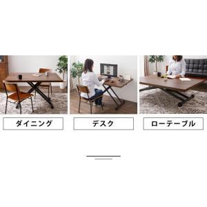 テーブル ガス圧昇降式テーブル 昇降テーブル ダイニングテーブル ローテーブル センターテーブル リビングテーブル デスク 代引不可|rcmdin|05