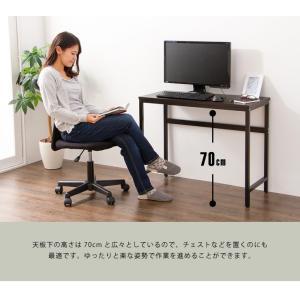 デスク スマートデスク 90×40 机 パソコンデスク オフィスデスク 多目的デスク つくえ 勉強机 PCデスク コンパクト|rcmdin|08
