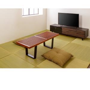ネルソンベンチ 120cm ベンチ 木製 テーブル ローテーブル センターテーブル デザイナーズ リプロダクト 北欧 ナチュラル 代引不可|rcmdin|08