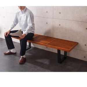 ネルソンベンチ 120cm ベンチ 木製 テーブル ローテーブル センターテーブル デザイナーズ リプロダクト 北欧 ナチュラル 代引不可|rcmdin|10