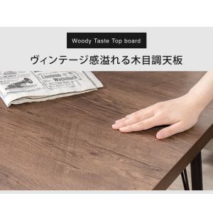 ダイニングテーブル正方形 80×80cm 木製 アイアン テーブル シンプル モダン おしゃれ ダイニング 新生活 代引不可|rcmdin|05