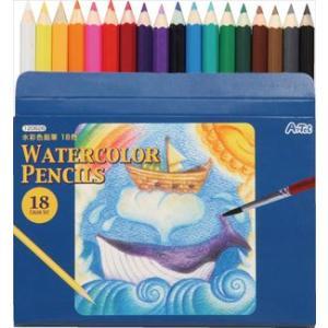 水彩色鉛筆18色 120626