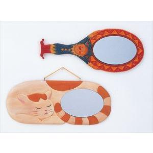 木彫鏡かざり しな 鏡付 30580|rcmdin