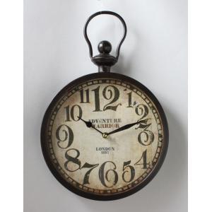 掛け時計 アンティークテイストのオシャレな壁掛け時計 アンティーク 代引不可