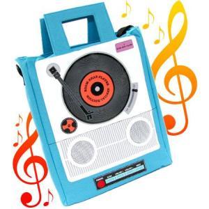 本数限定音楽をを持ってでかけよう!ミュージックプレイバッグ 「レコード」Cタイプアウトレット(保証あり) rcmdin