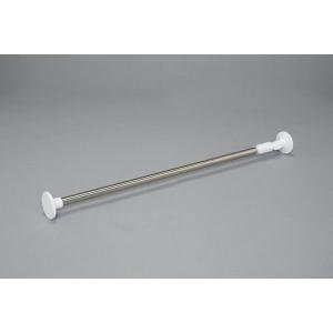 アイリスオーヤマ 浴室用ステンレス超強力伸縮棒 伸縮棒棚 (ホワイト) 1.9M YSP-190