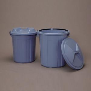 アイリスオーヤマ 丸型ペール/フタ バケツ・ペール (ブルー) 90リットル PM-90 ※本体のみ、ふた無し|rcmdin